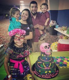 Happy 8th Birthday Harmony Joy #niece #birthday #brother #brothersfamily #sisterinlaw #nieces #nephew #happybirthday #sugarskull #8thbirthday