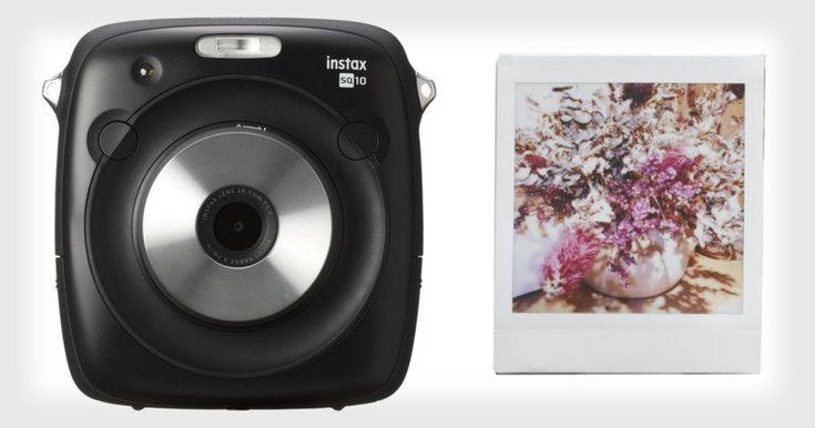 Fujifilm SQ10 is the First Hybrid Instax Camera: Digital Pics and Square Prints