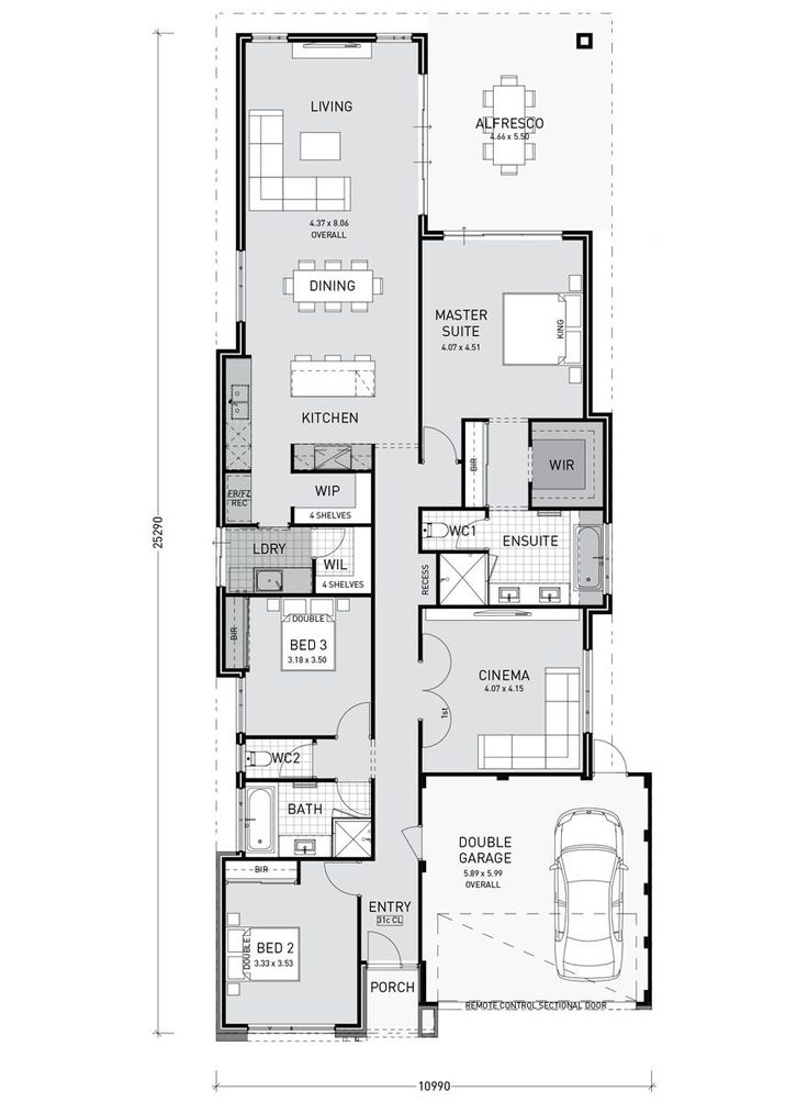 Mae Key Features: Master suite opens out onto alf…
