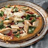 Quick Chicken Florentine Pizza