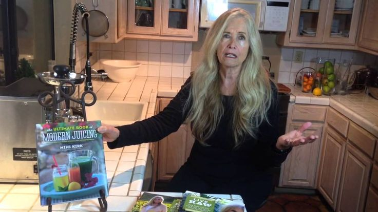 Mimi Kirk talks about longevity - You can check her website and recipes: www.youngonrawfood.com