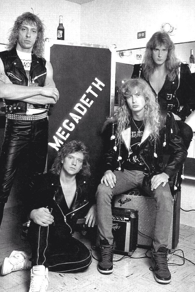 megadeth. (When they were the shyt!!!!)