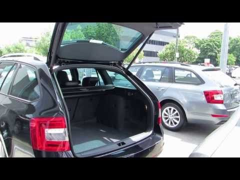 Short video of the electronic boot on the new ŠKODA Octavia RS Wagon.  #skoda #video #cars