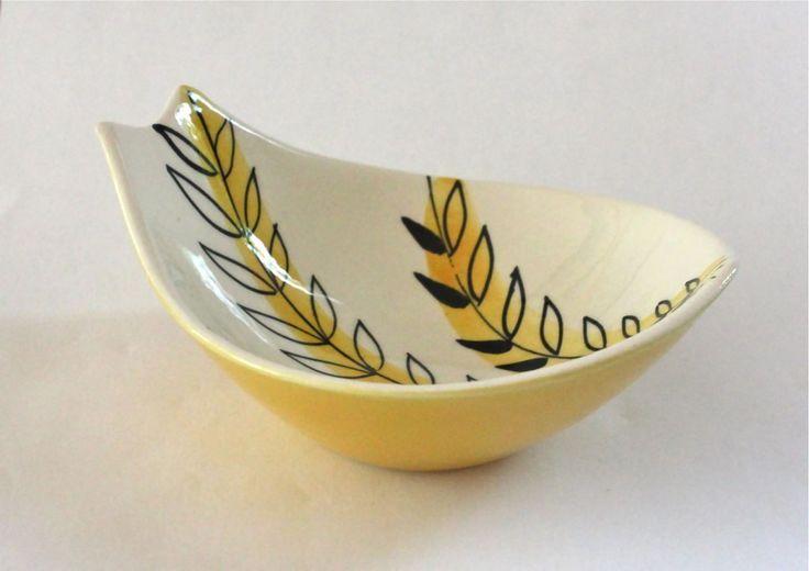 Stavangerflint Handpainted Spoon Rest Bowl Inger Waage Norwegian Scandinavian | eBay