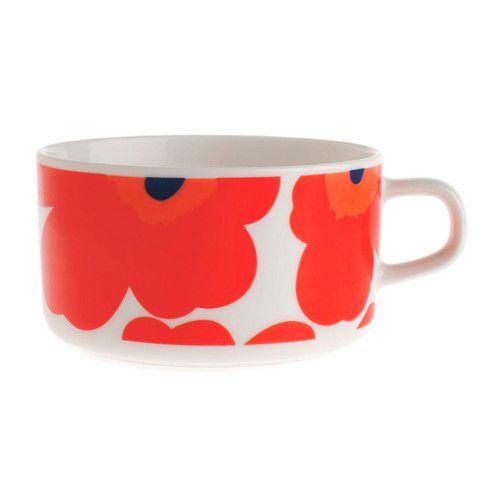 Unikko Tea Cup | Kiitos Marimekko