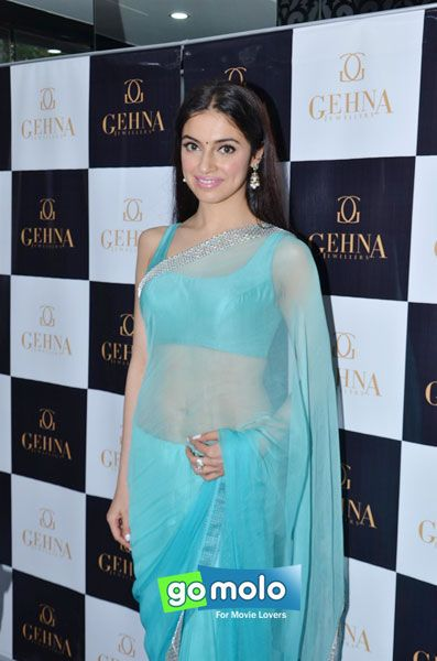 Divya Khosla Kumar at the Launch of Gehna Jewellers' Mother Day's collection in Mumbai