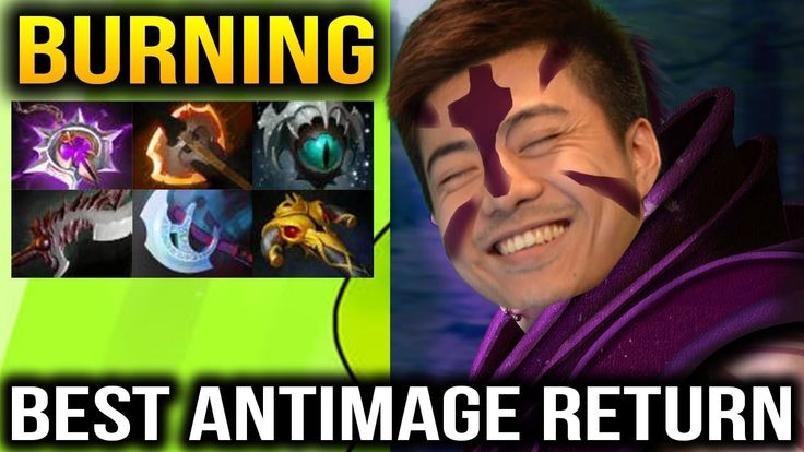 BURNING Anti Mage [2 Games] Best AM Carry Dota 2