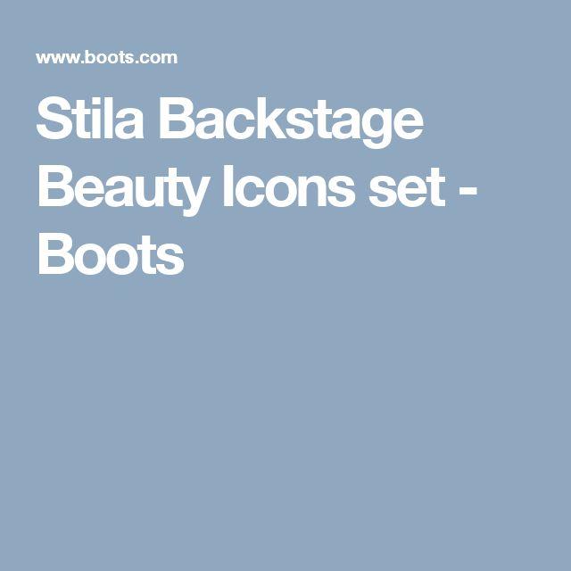 Stila Backstage Beauty Icons set - Boots