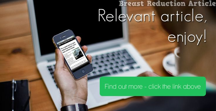 Breast Reduction Surgery #breastreduction newsdisp…