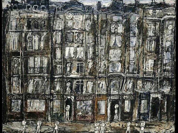 Jean Dubuffet - Apartment houses, Paris (1946)