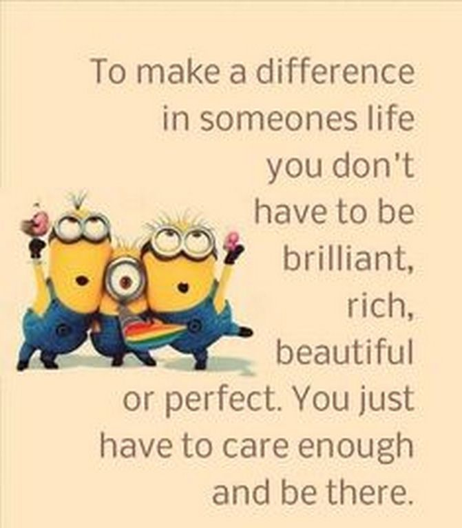 Cute Minions quotes 2016 (02:54:19 AM, Saturday 09, January 2016 PST) – 10 pics
