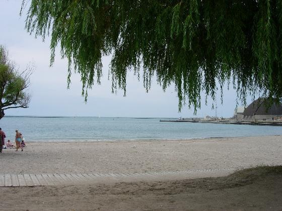 Goderich, Ontario! It's an adorable small town with a great beach!   Where I live! I can walk here from my house....how blessed am I!