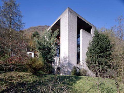 Mario Botta. Casa Bianchi. Riva San Vitale, Ticino, Switzerland 1971-1973