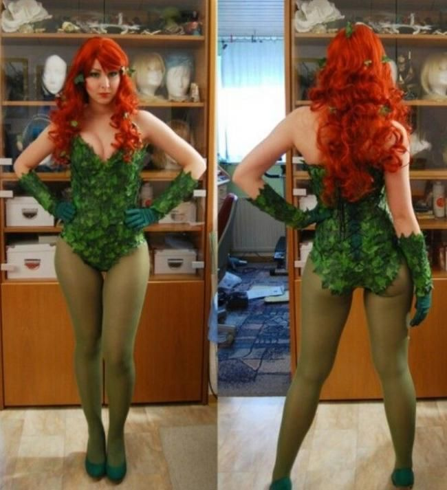 A Sexy Poison Ivy Costume For Women