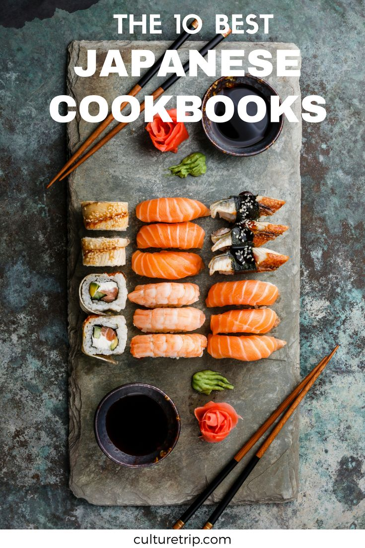 The 10 Best Japanese Cookbooks