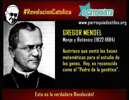 Gregor Mendel #RevolucionCatolica