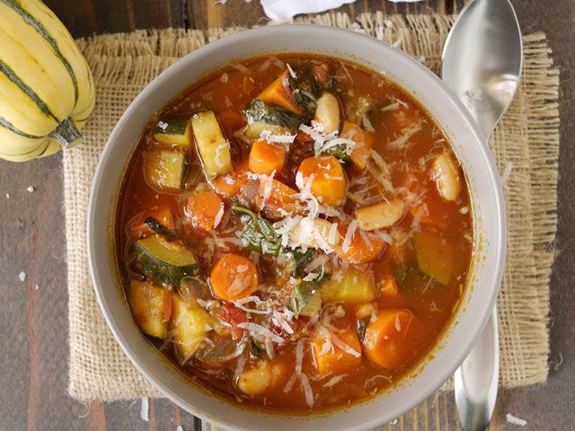 Cooking seasonally allows you to best enjoy the flavor of the vegetables. Get the recipe at Culinary Ginger.   - CountryLiving.com