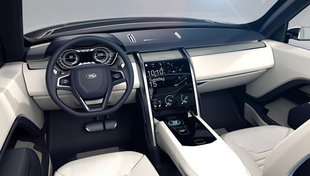2016 Land Rover Discovery - interior