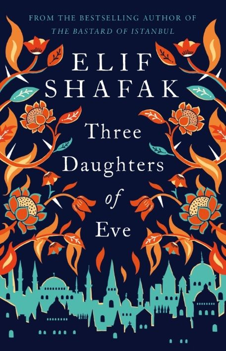 Great new book from Elif Shaf - Three Daughters Of Eve - Peri, a wealthy Turkish housewife, is on her way to a dinner party at a seaside mansion in Istanbul when a beggar snatches her handbag. As she wrestles to get it back, a photograph falls to the ground - an old polaroid of three young women and their university professor. A relic from a past - and a love - Peri had tried desperately to forget. #NewBooks #BookCovers #ElifShafak