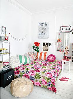Adorable style for dorm or apartment