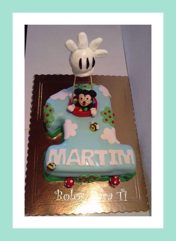 Bolo Mickey www.facebook.com/pages/Bolos-para-Ti/489407764471826 www.bolosparati.com