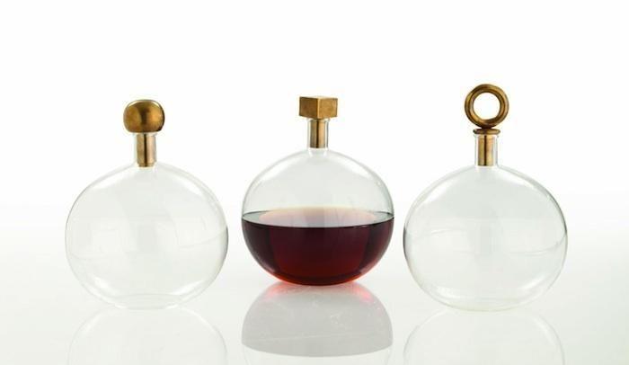 Arteriors Edgar Round Glass Bottle: Remodelista