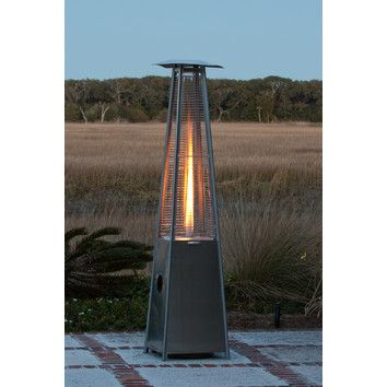 Fire Sense Pyramid Flame Propane Patio Heater For Rent  Www.williefunevents.com