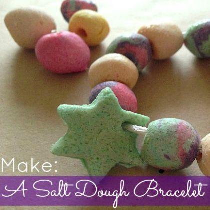 How To Make a Salt Dough Bracelet