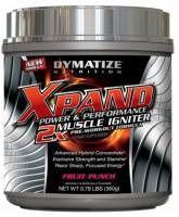 DYMATIZE XPAND 2x Pre Workout 360g to doskonale wchłaniający się preparat, który ułatwia przyrost masy mięśniowej. Zwiększa wytrzymałość mięśni i pozwala dłużej ćwiczyć. #sport #fitness #dymatize #suplementy