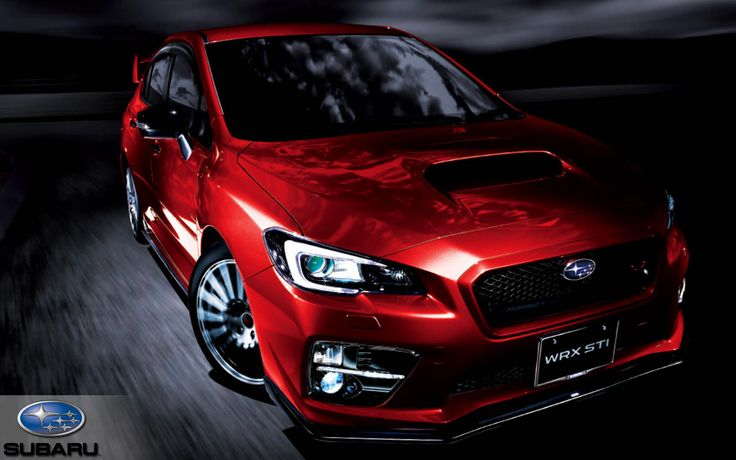 2015 Subaru WRX Limited 6MT Red Wallpaper