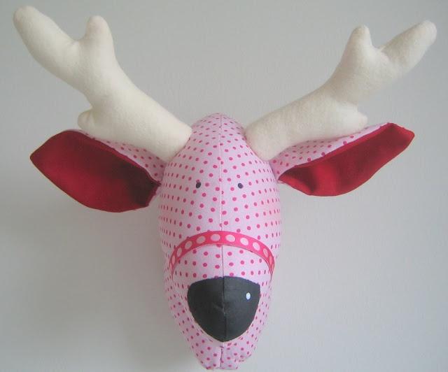 how to make a reindeer head