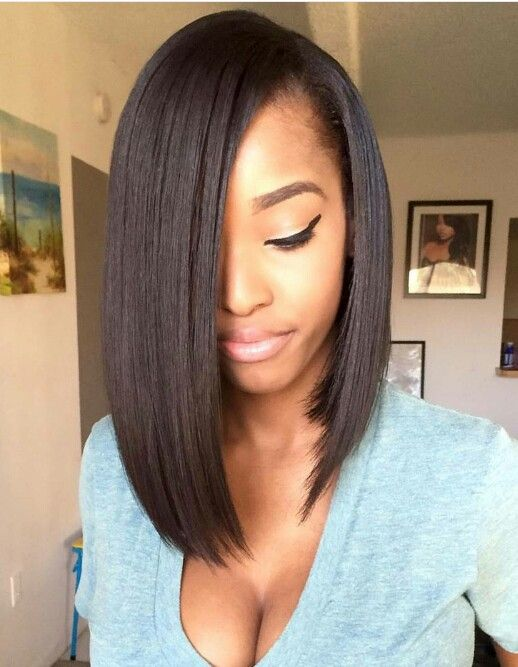 Pleasing 1000 Ideas About Relaxed Hair Hairstyles On Pinterest Your Hair Hairstyles For Men Maxibearus