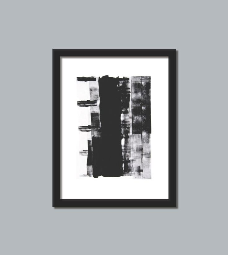 black and white art print 2  black and white 3 modern art print abstract picture poster wall decor contemporary this print would be beautiful to add to your home or business and brings a modern esthetic www.etsy.com/shop/loonhouse