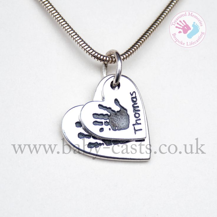 Sterling Silver hand print pendant. #treasuredmemories #crewe #cheshire #handmade #madewithlove #sterlingsilver #memorial #inlovingmemory #foreverwithme #keepsake #special #personalised #heart #charm #necklace #unique #silver #jewellery
