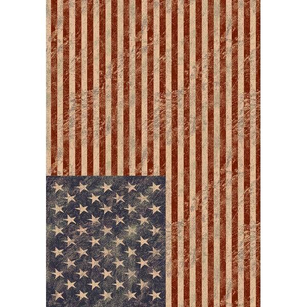 Groot tapijt met vlag USA 160x230