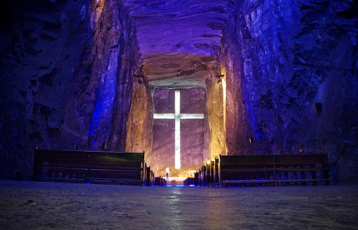 Salt Cathedral,Zipaquira, Colombia