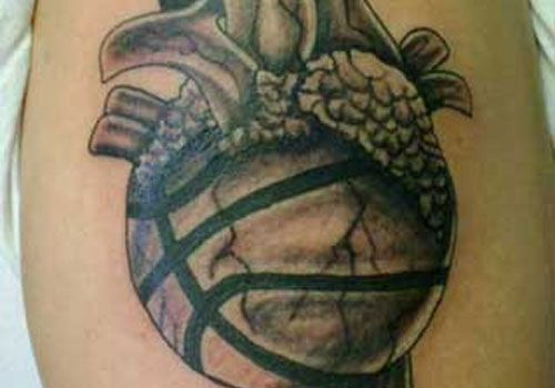 basketball-tattoos-ideas-for-men-on-sleeve ~ http://heledis.com/how-to-get-basketball-tattoos-design/