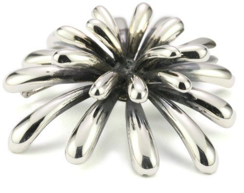"""Zina Sterling Silver """"Fireworks"""" Pin In Oxidized Silver Zina Sterling Silver. $290.00. Wipe with silver polishing cloth from time to time to restore finish. Made in the United States"""