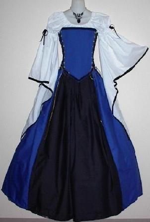 Medieval Lady Set - corset medieval renaissance clothing