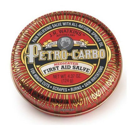 Amazon.com: J.R. Watkins Apothecary Petro-carbo medicated first aid salve 4.37 oz: Health & Personal Care