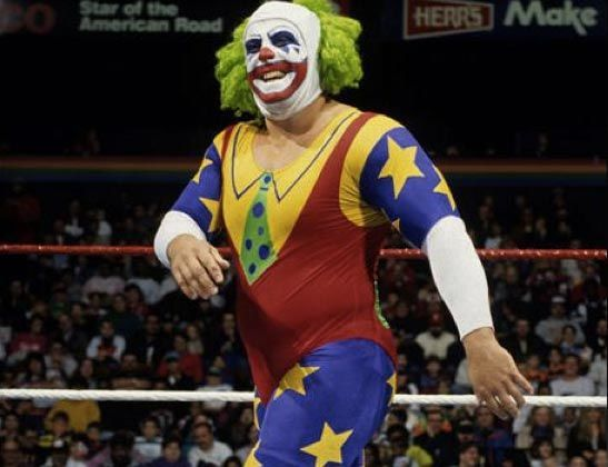 Doink the Clown - The 50 Greatest Wrestling Costumes of All Time | Complex UK