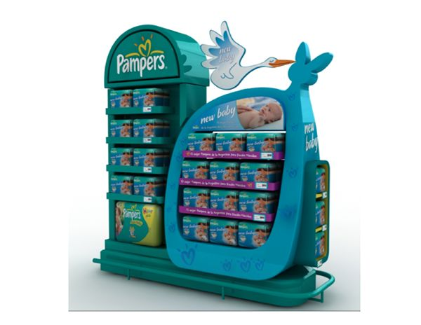Pampers | retail on Behance