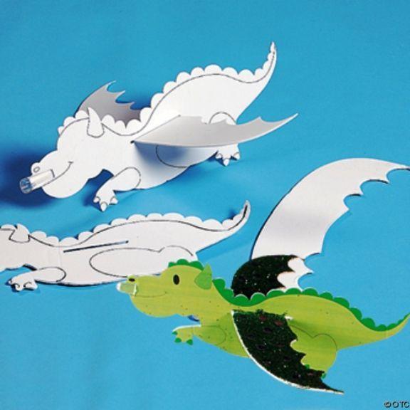 Картинки детей, как сделать открытку дракон
