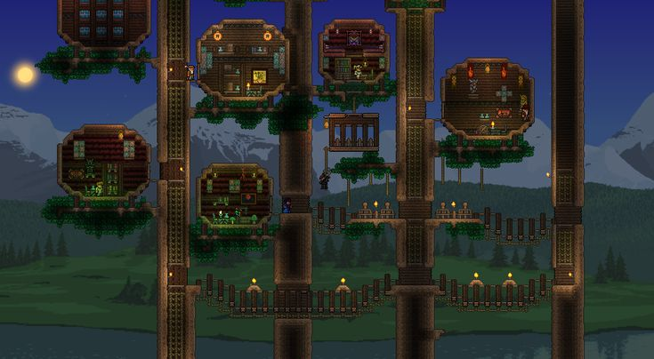 Terraria npc house ideas terrarium house and search on pinterest