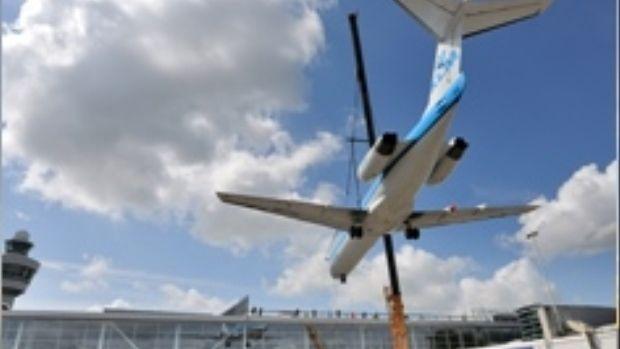 Land van ANWB Vliegtuigen spotten vanaf Panoramaterras