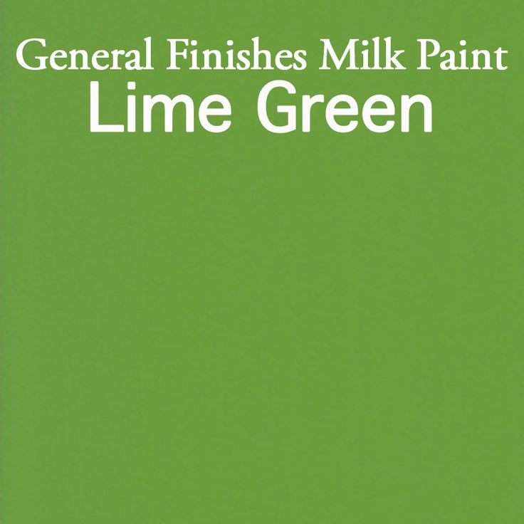 General Finishes Milk Paint in Lime Green. Milk paint has many uses from providing a contemporary look to giving that old fashioned feel to your furniture. Available at Rockler & Woodcraft stores, Amazon.com, or find a retailer near you, http://generalfinishes.com/where-buy#.UxjYDmeYatV Limited selections at www/leevalley.com in Canada. Share your projects with the tag #GeneralFinishes or at generalfinishes.c...