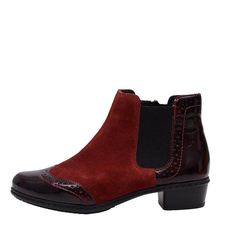Dámská obuv RIEKER Y0743/35 ROT KOMBI H/W 6 | W