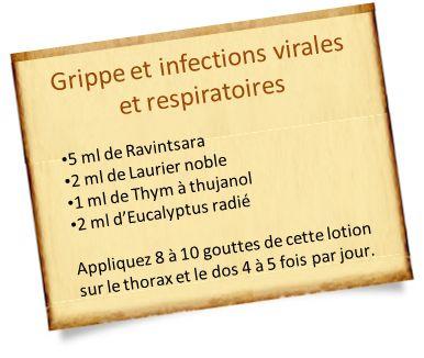 Nos recettes de Thym à thujanol pour les maladies de l'hiver : Soigner une grippe