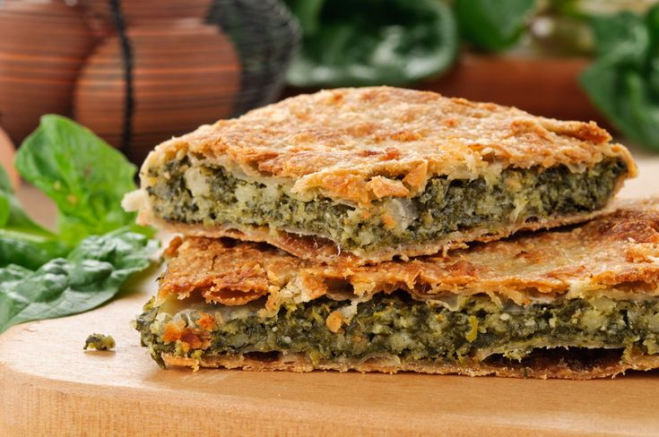 This vegetarian filo pie is filled with the incredibly healthy nettle and spinach or chards - any decent green or a mixture can work well, too. We've used home-made filo because it's just really different to the commercial stuff and makes a -rustic- difference!