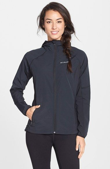 Columbia® 'Sweet As' Soft Shell Hooded Jacket   Nordstrom